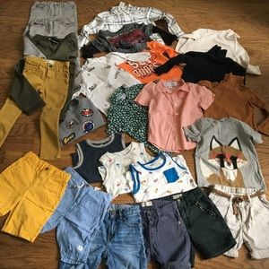 Huge bundle of boys clothes size 5